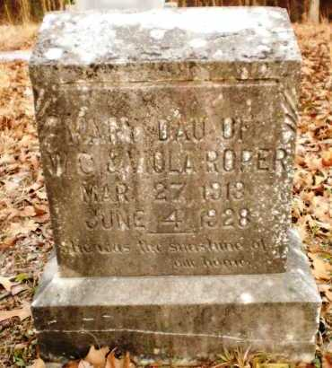 ROPER, MARY - Drew County, Arkansas | MARY ROPER - Arkansas Gravestone Photos