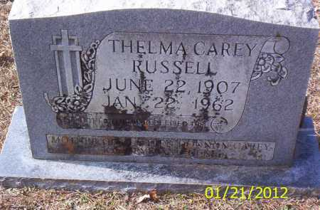 RUSSELL, THELMA - Drew County, Arkansas | THELMA RUSSELL - Arkansas Gravestone Photos