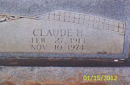 SAVAGE, CLAUDE H - Drew County, Arkansas | CLAUDE H SAVAGE - Arkansas Gravestone Photos
