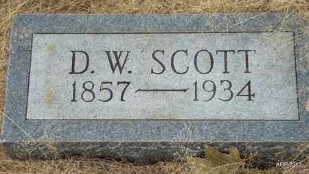 SCOTT, D W - Drew County, Arkansas | D W SCOTT - Arkansas Gravestone Photos
