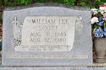 SCOTT, WILLIAM LEE - Drew County, Arkansas | WILLIAM LEE SCOTT - Arkansas Gravestone Photos