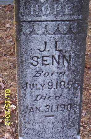 SENN, J L - Drew County, Arkansas   J L SENN - Arkansas Gravestone Photos