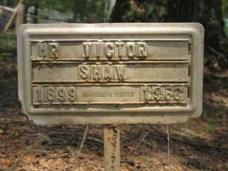 SHAW, VICTOR - Drew County, Arkansas | VICTOR SHAW - Arkansas Gravestone Photos