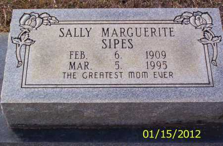 SIPES, SALLY MARGUERITE - Drew County, Arkansas | SALLY MARGUERITE SIPES - Arkansas Gravestone Photos