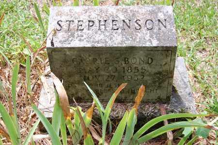 BOND STEPHENSON, CARRIE - Drew County, Arkansas | CARRIE BOND STEPHENSON - Arkansas Gravestone Photos