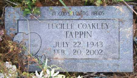 COAKLEY TAPPIN, LUCILLE - Drew County, Arkansas | LUCILLE COAKLEY TAPPIN - Arkansas Gravestone Photos