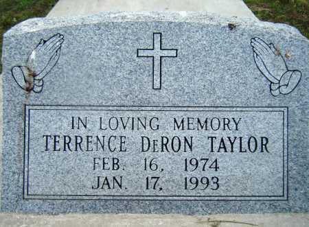 TAYLOR, TERRENCE DERON - Drew County, Arkansas   TERRENCE DERON TAYLOR - Arkansas Gravestone Photos