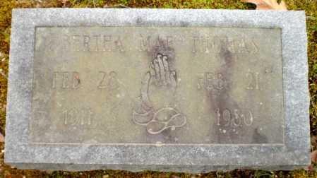 THOMAS, BERTHA MAE - Drew County, Arkansas   BERTHA MAE THOMAS - Arkansas Gravestone Photos