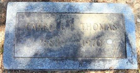 THOMAS, CARROLL P - Drew County, Arkansas   CARROLL P THOMAS - Arkansas Gravestone Photos