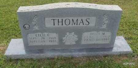 THOMAS, DELTA M - Drew County, Arkansas | DELTA M THOMAS - Arkansas Gravestone Photos