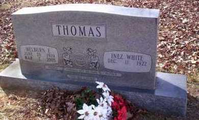 THOMAS, MELBURN E - Drew County, Arkansas | MELBURN E THOMAS - Arkansas Gravestone Photos