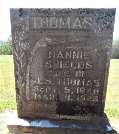 THOMAS, NANNIE - Drew County, Arkansas | NANNIE THOMAS - Arkansas Gravestone Photos