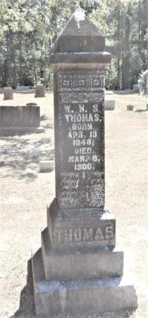 THOMAS, W H S - Drew County, Arkansas | W H S THOMAS - Arkansas Gravestone Photos