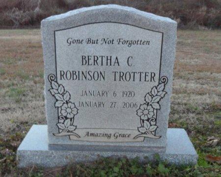 ROBINSON TROTTER, BERTHA C. - Drew County, Arkansas | BERTHA C. ROBINSON TROTTER - Arkansas Gravestone Photos