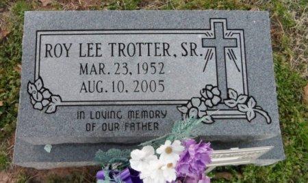 TROTTER, SR., ROY LEE - Drew County, Arkansas   ROY LEE TROTTER, SR. - Arkansas Gravestone Photos