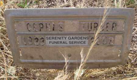 TURNER, CEPHIS - Drew County, Arkansas   CEPHIS TURNER - Arkansas Gravestone Photos