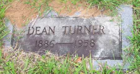 TURNER, DEAN - Drew County, Arkansas | DEAN TURNER - Arkansas Gravestone Photos