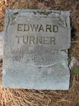 TURNER, EDWARD - Drew County, Arkansas | EDWARD TURNER - Arkansas Gravestone Photos