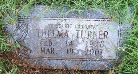 TURNER, THELMA - Drew County, Arkansas | THELMA TURNER - Arkansas Gravestone Photos