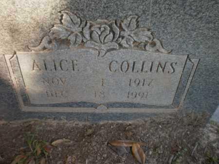 WHITE, ALICE (CLOSE UP) - Drew County, Arkansas | ALICE (CLOSE UP) WHITE - Arkansas Gravestone Photos