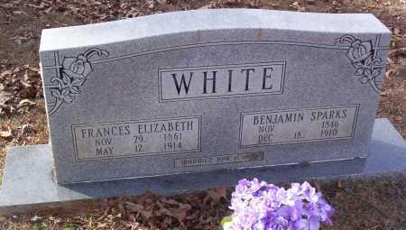 WHITE WHITE, FRANCES ELIZABETH - Drew County, Arkansas | FRANCES ELIZABETH WHITE WHITE - Arkansas Gravestone Photos