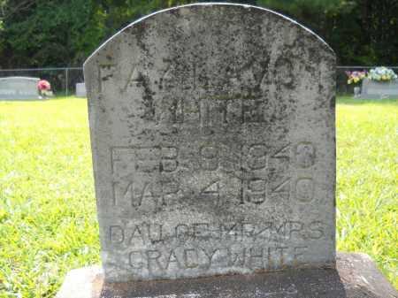 WHITE, FAY LAVON - Drew County, Arkansas | FAY LAVON WHITE - Arkansas Gravestone Photos