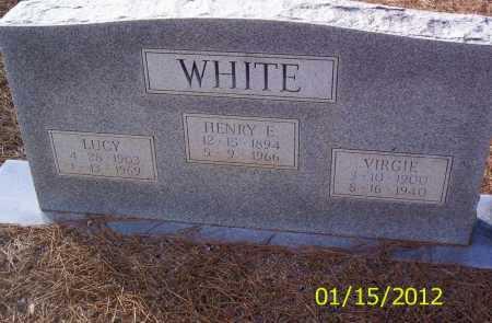 WHITE, LUCY - Drew County, Arkansas | LUCY WHITE - Arkansas Gravestone Photos