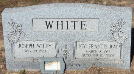 WHITE, JOY FRANCIS - Drew County, Arkansas   JOY FRANCIS WHITE - Arkansas Gravestone Photos