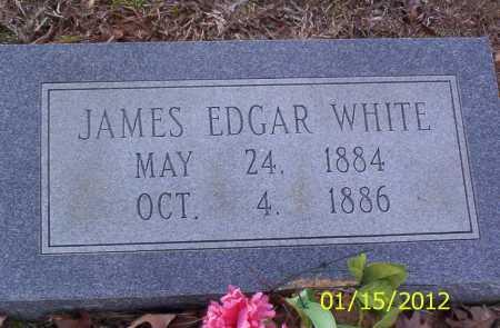 WHITE, JAMES EDGAR - Drew County, Arkansas   JAMES EDGAR WHITE - Arkansas Gravestone Photos