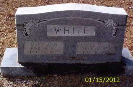 WHITE, JAMES HENRY - Drew County, Arkansas | JAMES HENRY WHITE - Arkansas Gravestone Photos