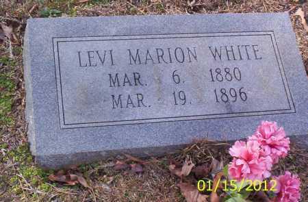 WHITE, LEVI MARION - Drew County, Arkansas   LEVI MARION WHITE - Arkansas Gravestone Photos