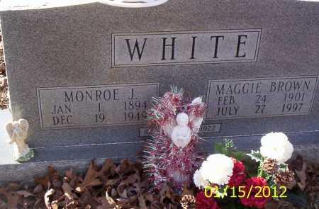 WHITE, MAGGIE - Drew County, Arkansas | MAGGIE WHITE - Arkansas Gravestone Photos