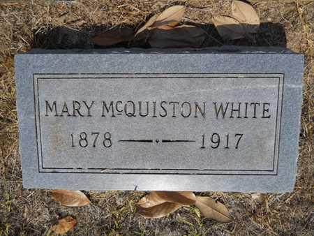 WHITE, MARY - Drew County, Arkansas | MARY WHITE - Arkansas Gravestone Photos