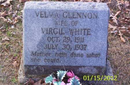 WHITE, VELVA - Drew County, Arkansas | VELVA WHITE - Arkansas Gravestone Photos