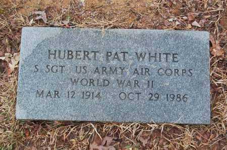 WHITE (VETERAN WWII), HUBERT PAT - Drew County, Arkansas | HUBERT PAT WHITE (VETERAN WWII) - Arkansas Gravestone Photos