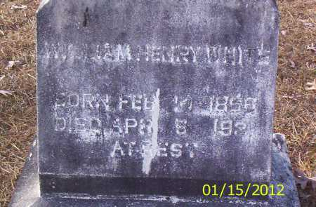 WHITE, WILLIAM HENRY - Drew County, Arkansas | WILLIAM HENRY WHITE - Arkansas Gravestone Photos