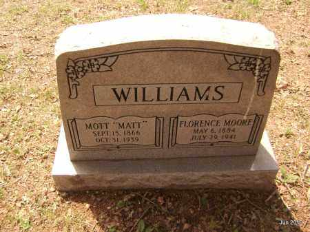 WILLIAMS, FLORENCE - Drew County, Arkansas | FLORENCE WILLIAMS - Arkansas Gravestone Photos