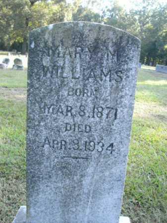 WILLIAMS, MARY M - Drew County, Arkansas   MARY M WILLIAMS - Arkansas Gravestone Photos