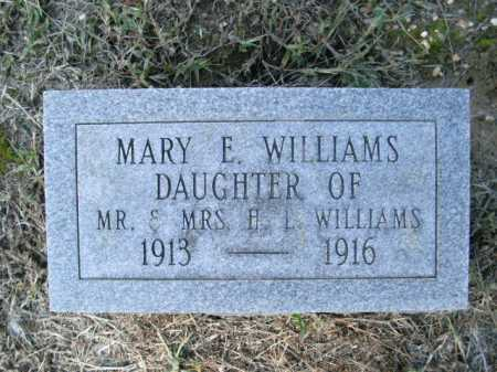 WILLIAMS, MARY  E - Drew County, Arkansas | MARY  E WILLIAMS - Arkansas Gravestone Photos