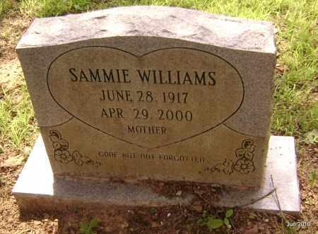 WILLIAMS, SAMMIE - Drew County, Arkansas   SAMMIE WILLIAMS - Arkansas Gravestone Photos
