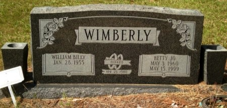 WIMBERLY, BETTY JO - Drew County, Arkansas | BETTY JO WIMBERLY - Arkansas Gravestone Photos