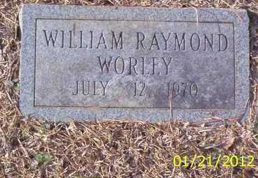 WORLEY, WILLIAM RAYMOND - Drew County, Arkansas | WILLIAM RAYMOND WORLEY - Arkansas Gravestone Photos