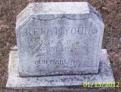 YOUNG, REBA M - Drew County, Arkansas   REBA M YOUNG - Arkansas Gravestone Photos
