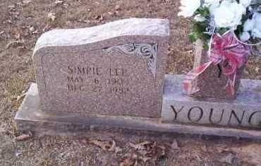 YOUNG, SIMPIE LEE - Drew County, Arkansas | SIMPIE LEE YOUNG - Arkansas Gravestone Photos
