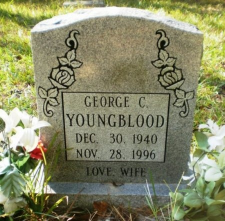 YOUNGBLOOD, GEORGE C. - Drew County, Arkansas | GEORGE C. YOUNGBLOOD - Arkansas Gravestone Photos