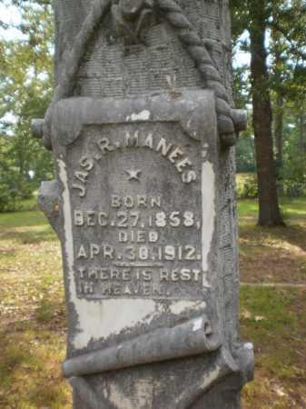 MANEES, JAMES R (CLOSE UP) - Drew County, Arkansas   JAMES R (CLOSE UP) MANEES - Arkansas Gravestone Photos