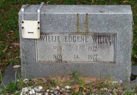 WHITE, WILLIE EUGENE - Drew County, Arkansas | WILLIE EUGENE WHITE - Arkansas Gravestone Photos