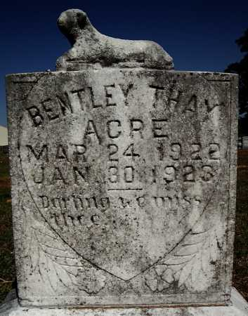ACRE, BENTLEY THAY - Faulkner County, Arkansas | BENTLEY THAY ACRE - Arkansas Gravestone Photos