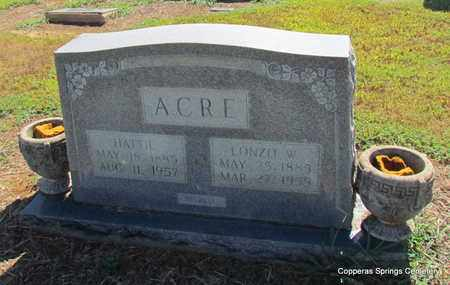 ACRE, HATTIE ESTELLE - Faulkner County, Arkansas | HATTIE ESTELLE ACRE - Arkansas Gravestone Photos