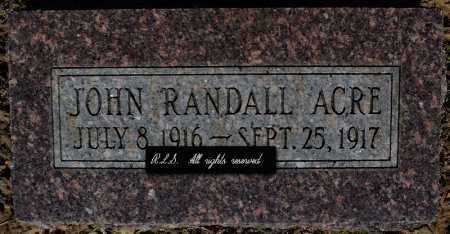 ACRE, JOHN RANDALL - Faulkner County, Arkansas | JOHN RANDALL ACRE - Arkansas Gravestone Photos